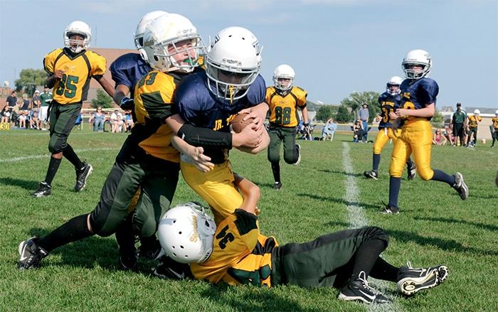 american football kinder